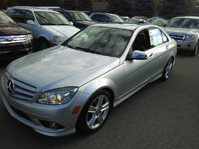 2010 MERCEDES-BENZ C-CLASS C300 LUXURY 4MATIC AWD 4DR SEDAN silver carfax no accidents 4matic-