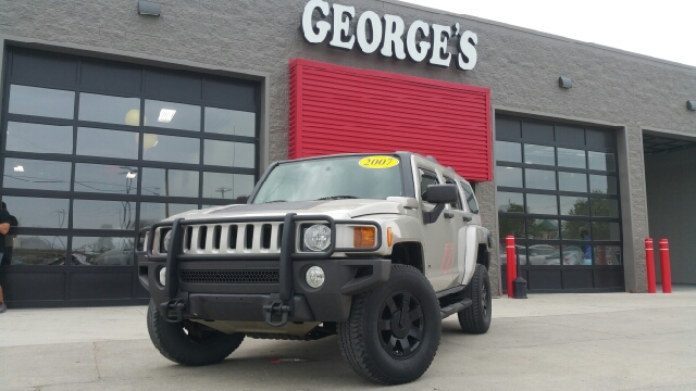 2007 HUMMER H3 BASE 4DR SUV 4WD boulder grey metallic carfax 2 owners and no accidents 4x4 my