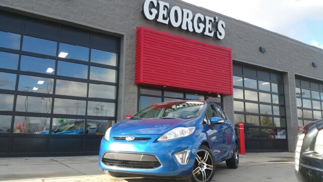 2011 FORD FIESTA SES 4DR HATCHBACK blue flame metallic carfax 2 owners and no accidents how entic