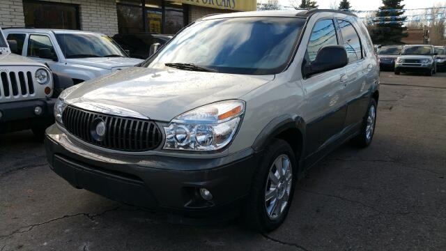 2005 BUICK RENDEZVOUS CX AWD 4DR SUV cappuccino frost metallic awd stability and traction contro