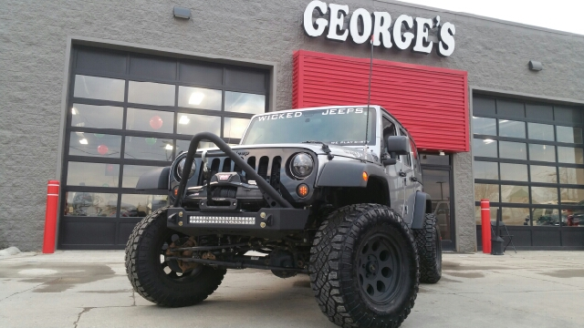 2015 JEEP WRANGLER UNLIMITED WILLYS WHEELER EDITION 4X4 4DR S billet metallic carfax 1 owner and