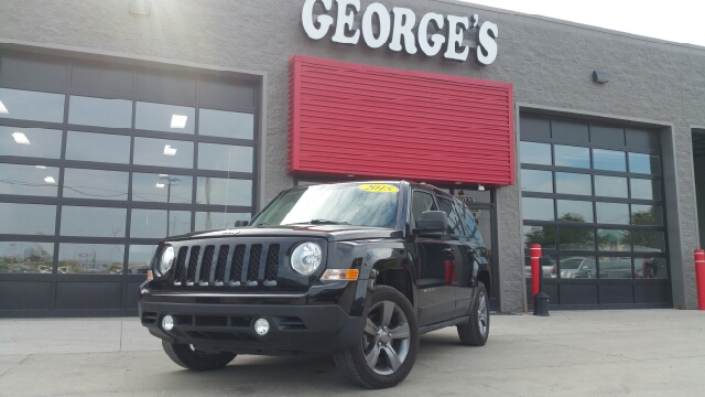 2015 JEEP PATRIOT HIGH ALTITUDE EDITION 4DR SUV black clearcoat carfax 1 owner and no accidents c