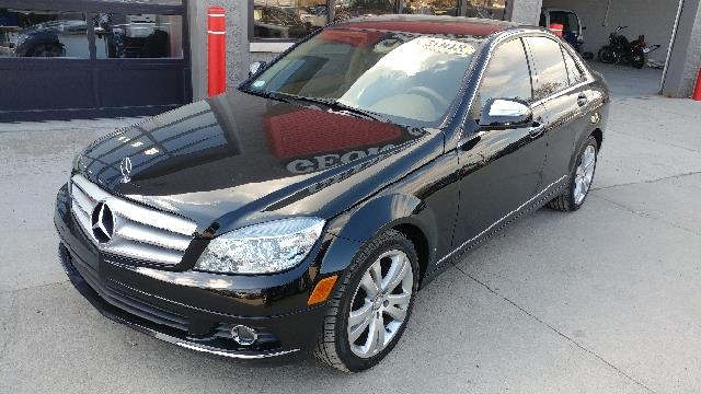 2008 MERCEDES-BENZ C-CLASS C 300 LUXURY 4DR SEDAN black what a sweetheart there are used cars a