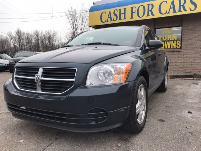 2008 DODGE CALIBER SXT 4DR WAGON blue look right here if youve been yearning to get your hands