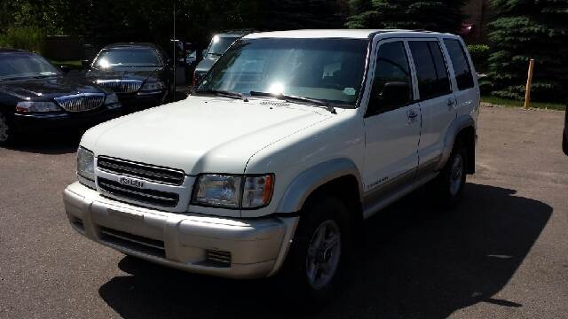 2000 ISUZU TROOPER S 4DR 4WD SUV silver 4wd no games just business the suv youve always wante