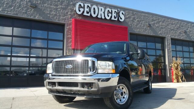 2003 FORD EXCURSION XLT 4DR 4WD SUV black carfax no accidents 4wd wet-weather traction control