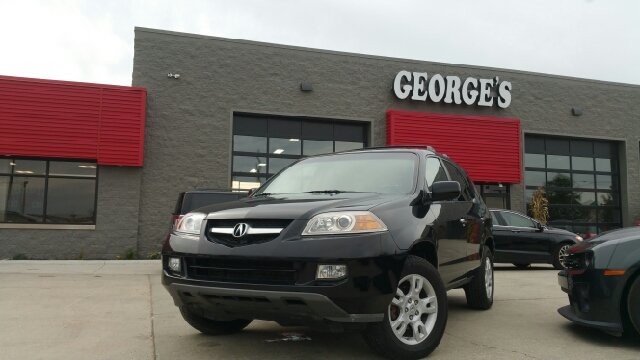 2004 ACURA MDX TOURING WRES WNAVI AWD 4DR SUV nighthawk black pearl carfax 1 owner and no accid