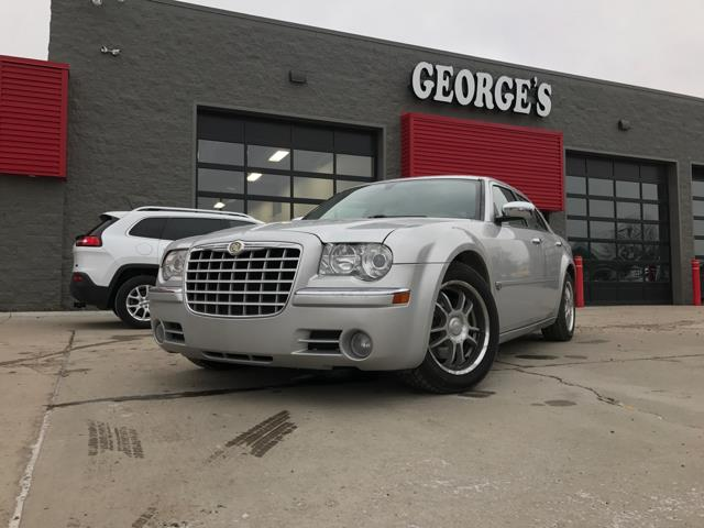 2005 CHRYSLER 300 C 4DR SEDAN bright silver metallic best color theres no substitute for a chry