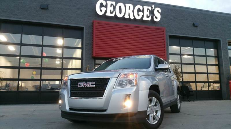 2010 GMC TERRAIN SLE-1 AWD 4DR SUV quicksilver metallic carfax 1 owner and no accidents awd don