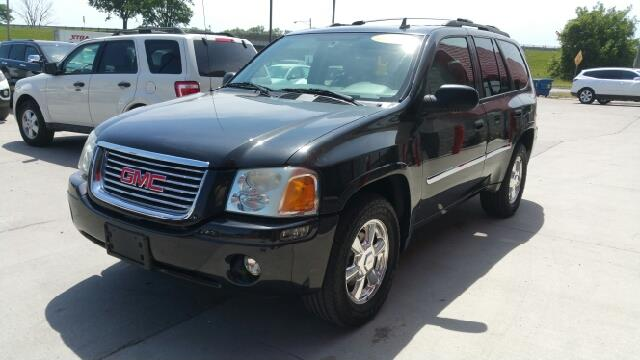 2008 GMC ENVOY SLT 4X4 4DR SUV carbon black metallic carfax 2 owners and no accidents 4wd breath