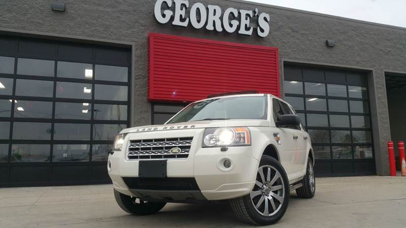 2008 LAND ROVER LR2 HSE AWD 4DR SUV WTEC TECHNOLOGY alaska white wow what a beautiful sport util