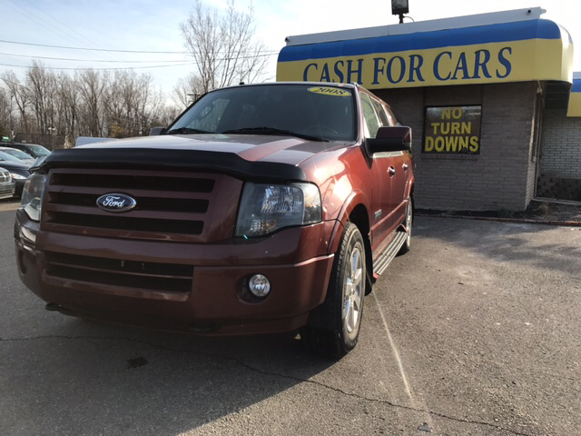 2008 FORD EXPEDITION EL LIMITED 4X4 4DR SUV copper carfax 2 owners and no accidents 4wd with so m