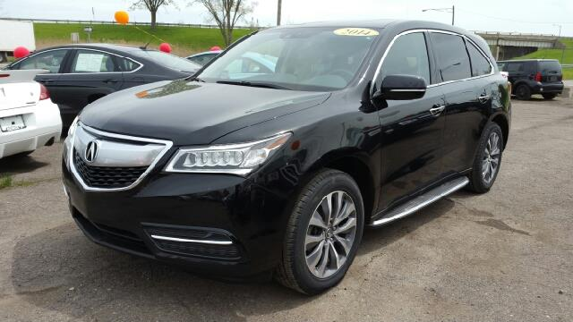 2014 ACURA MDX SH-AWD WTECH 4DR SUV WTECHNOLO crystal black pearl one owner really struts its s