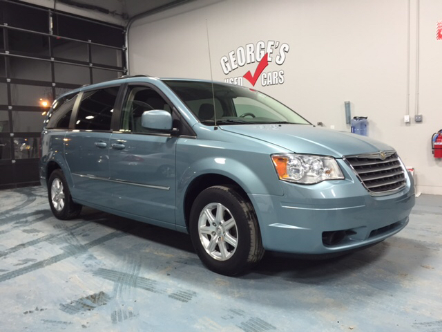2009 CHRYSLER TOWN AND COUNTRY TOURING MINI VAN 4DR sky blue cloth wow what a sweetheart a grea