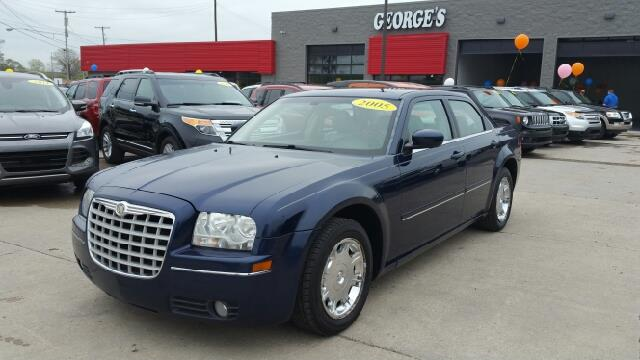 2005 CHRYSLER 300 TOURING 4DR SEDAN midnight blue pearl are you ready for a chrysler join us at