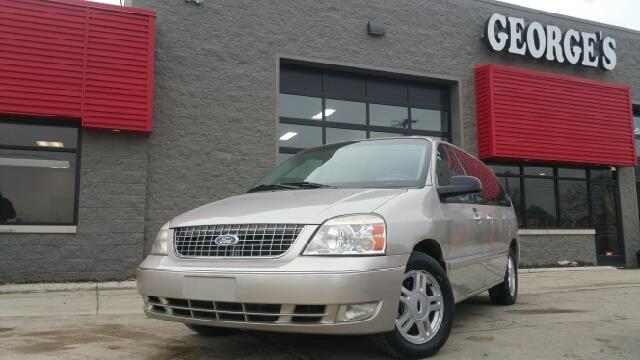 2005 FORD FREESTAR SEL 4DR MINI VAN silver birch metallic you can kiss the odometer on this one