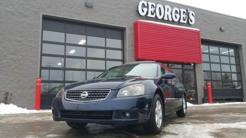 2005 NISSAN ALTIMA 25 SL 4DR SEDAN majestic blue metallic carfax 1 owner dont bother looking a