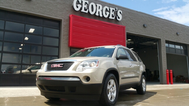 2010 GMC ACADIA SL 4DR SUV gold mist metallic carfax 2 owners and no accidents fwd and cloth jo