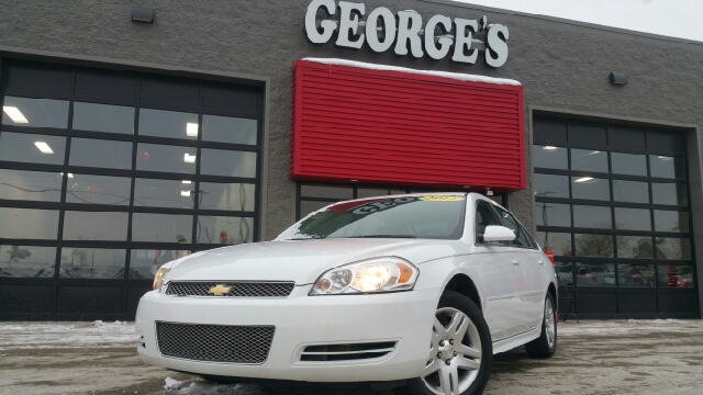 2012 CHEVROLET IMPALA LT 4DR SEDAN summit white carfax 1 owner and no accidents greetings from i