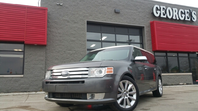 2010 FORD FLEX LIMITED AWD 4DR CROSSOVER WECOB sterling grey metallic awd hurry and take advanta