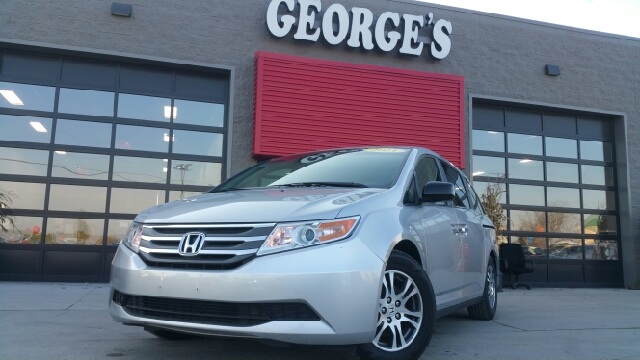 2011 HONDA ODYSSEY EX-L 4DR MINI VAN alabaster silver metallic what a superb deal a great deal in