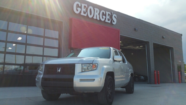 2006 HONDA RIDGELINE RTL AWD 4DR CREW CAB billet silver metallic carfax one owner leather luxur