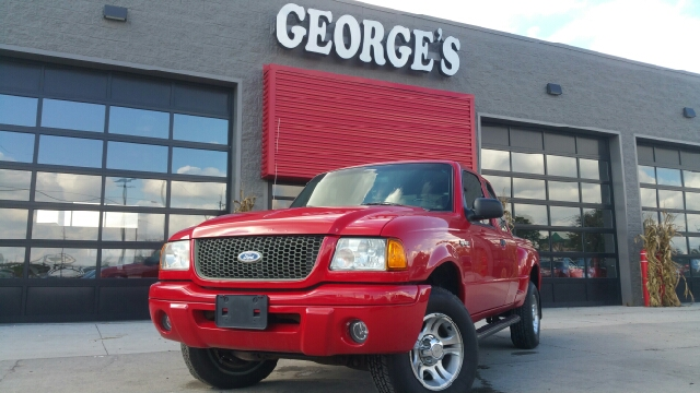 2002 FORD RANGER EDGE PLUS 4DR SUPERCAB 2WD SB bright red clearcoat 30l ffv v6 young one lookin