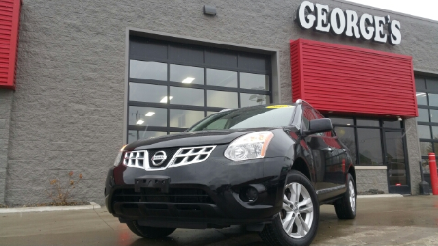 2012 NISSAN ROGUE SV AWD 4DR CROSSOVER super black carfax 2 owners and no accidents awd king-siz