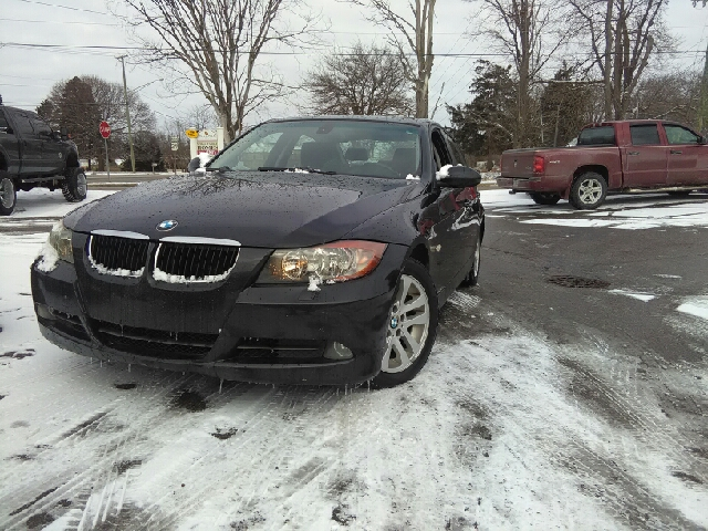 2007 BMW 3 SERIES 328XI AWD 4DR SEDAN black carfax report no accidents awd wow what a sweethea