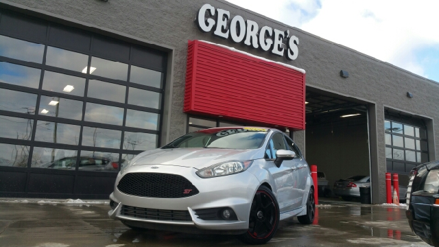 2014 FORD FIESTA ST 4DR HATCHBACK ingot silver metallic carfax 1 owner and no accidents 6spd my