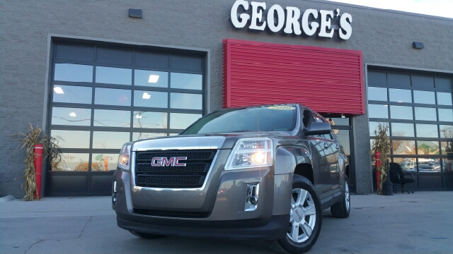2010 GMC TERRAIN SLE-1 4DR SUV mocha steel metallic carfax no accidents young one looking for fo