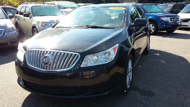 2011 BUICK LACROSSE CX 4DR SEDAN carbon black metallic some things are too good to be true and so
