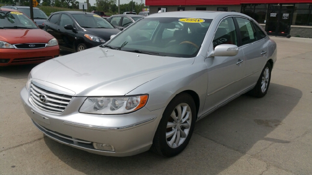 2008 HYUNDAI AZERA LIMITED 4DR SEDAN silver frost carfax one owner and no accidents leather fine