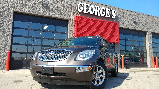 2009 BUICK ENCLAVE CXL 4DR SUV cocoa metallic 2-stage unlocking doors 8-passenger seating abs -
