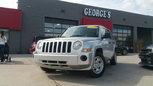 2009 JEEP PATRIOT SPORT 4DR SUV bright silver metallic carfax 2 owners and no accidents cloth b