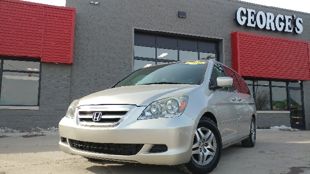 2006 HONDA ODYSSEY EX-L 4DR MINI VAN silver carfax 1 owner and no accidents drives like a dream