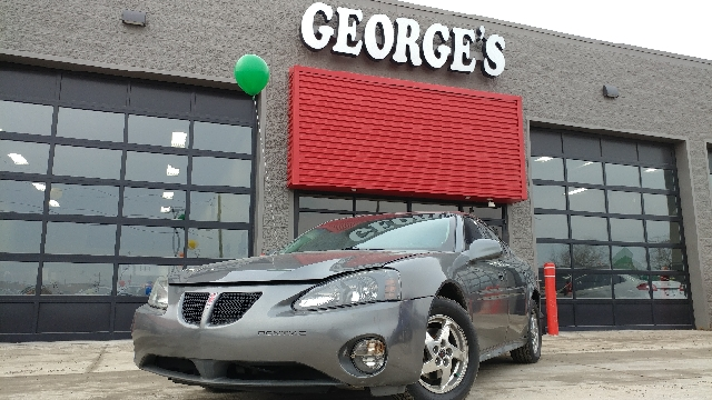 2004 PONTIAC GRAND PRIX GT2 4DR SEDAN greystone metallic with these low miles this is a babe in
