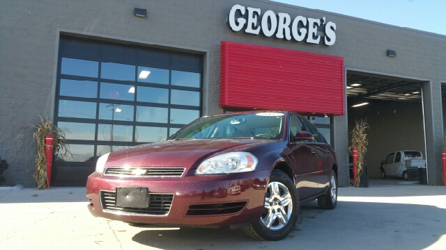 2007 CHEVROLET IMPALA LS 4DR SEDAN bordeaux red carfax no accidents your saddle awaits young on