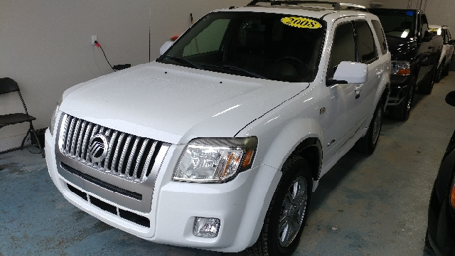 2008 MERCURY MARINER PREMIER AWD 4DR SUV white suede carfax 2 owners and no accidents duratec 3