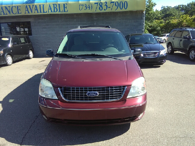2007 FORD FREESTAR SEL 4DR MINI VAN burgandy carfax 1 owner and no accidents theres an ocean of