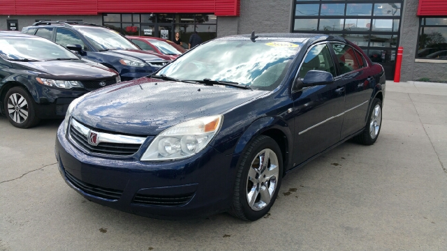 2008 SATURN AURA XE 4DR SEDAN deep blue carfax no accidents wow what a sweetheart a great deal