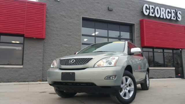 2007 LEXUS RX 350 BASE AWD 4DR SUV millennium silver metallic carfax no accidents awd and cloth