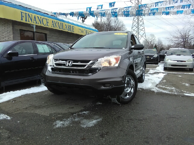 2010 HONDA CR-V LX AWD 4DR SUV gray carfax 2 owners and no accidents awd your bones have never