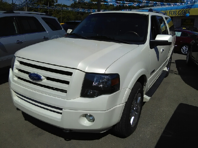 2007 FORD EXPEDITION EL LIMITED 4DR SUV 4X4 white 2-stage unlocking doors 4wd selector - electron