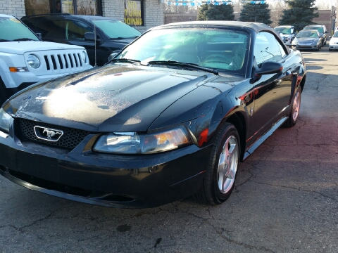2003 Ford Mustang for sale in Brownstown, MI
