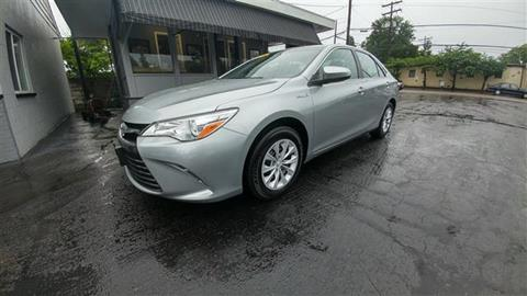 2016 Toyota Camry Hybrid for sale in Gahanna, OH