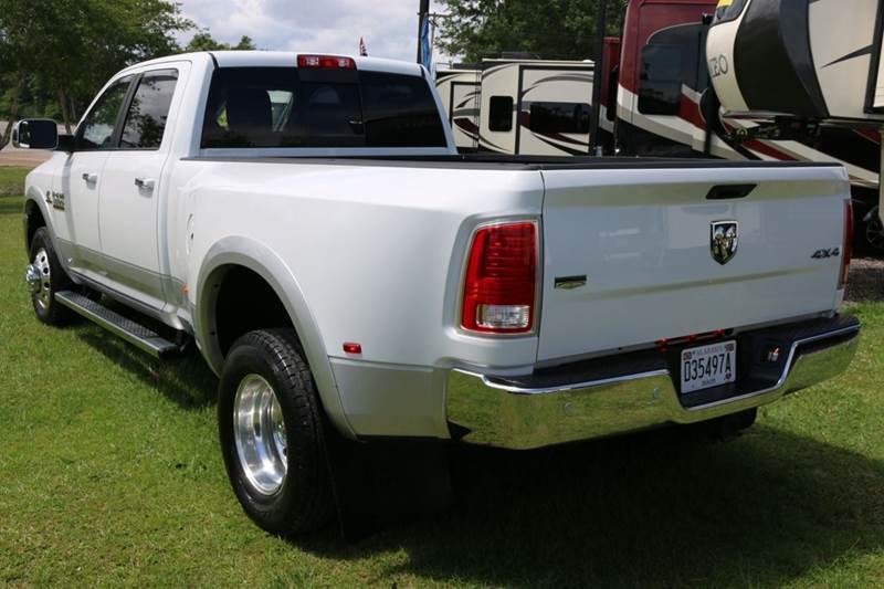 2016 RAM Ram Pickup 3500 4x4 Laramie 4dr Crew Cab 8 ft. LB Pickup - Robertsdale AL