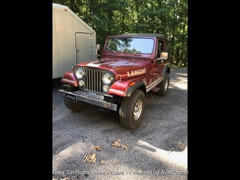 1985 Jeep CJ-7 for sale in Mc Kenzie, TN