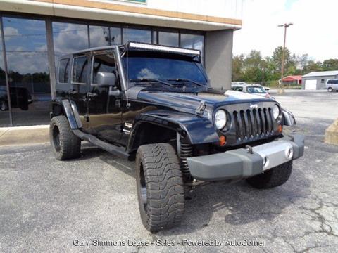 2008 Jeep Wrangler Unlimited for sale in Mc Kenzie, TN