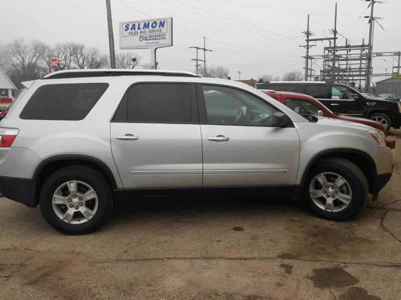 2009 gmc acadia sle 1 awd 4dr suv in tracy mn salmon. Black Bedroom Furniture Sets. Home Design Ideas
